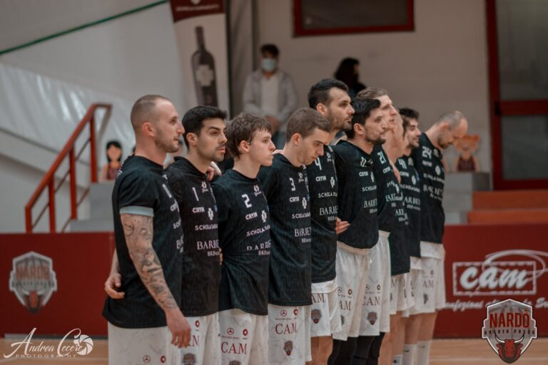 Basket, finale play-off Serie B: Roseto beffato nel finale a Nardò, i salentini volano sul 2-0