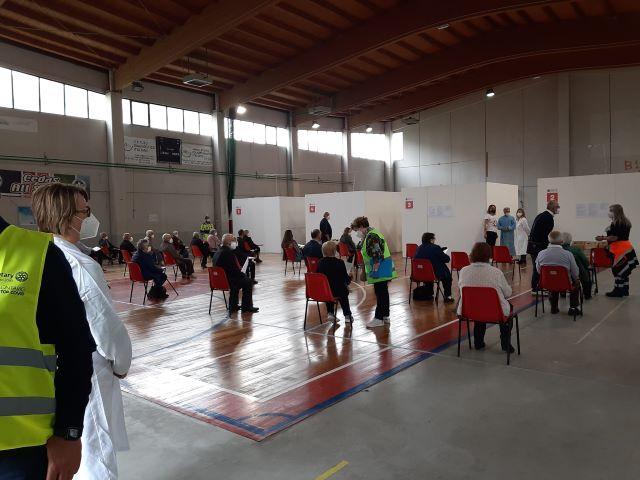 Covid-19, vaccinazione: Open Day over 60 a Lanciano