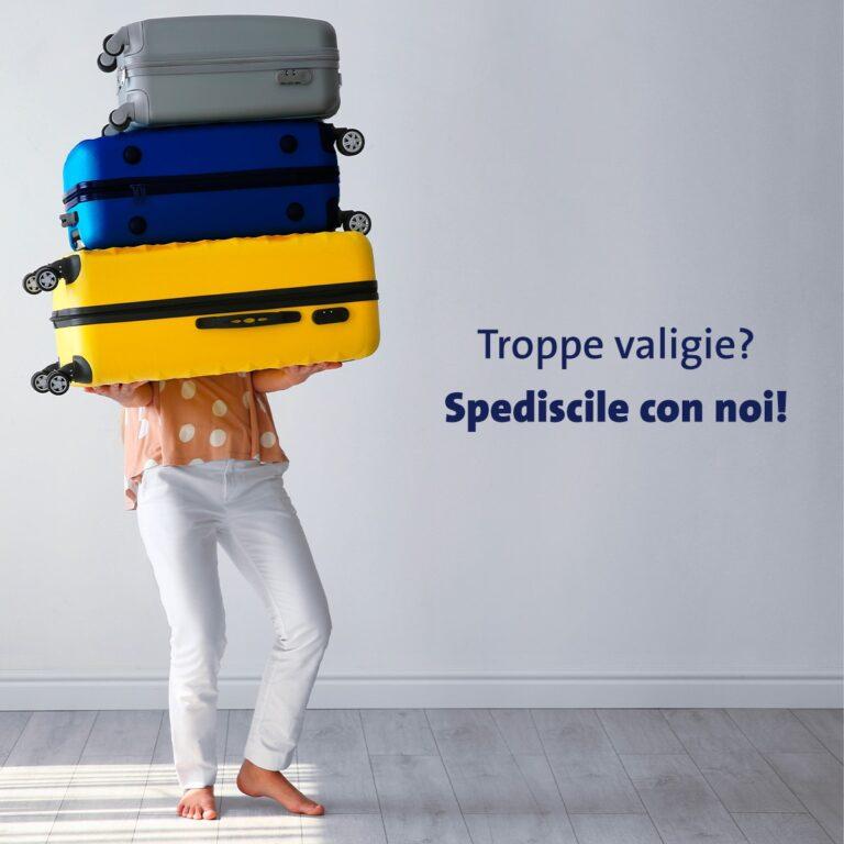 Troppi bagagli? tranquillo, ci pensa GLS