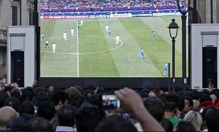 Giulianova, dietrofront del sindaco: niente maxischermo per la finale Italia-Inghilterra