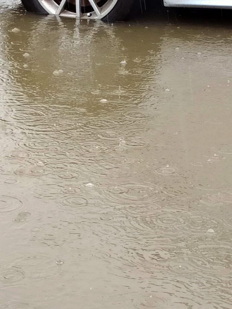 Giulianova, lungomare sud allagato FOTO/VIDEO