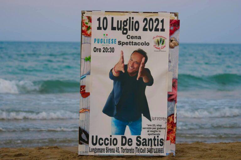 Grande successo da DAL PUGLIESE RISTORANTE a Tortoreto per Uccio De Santis
