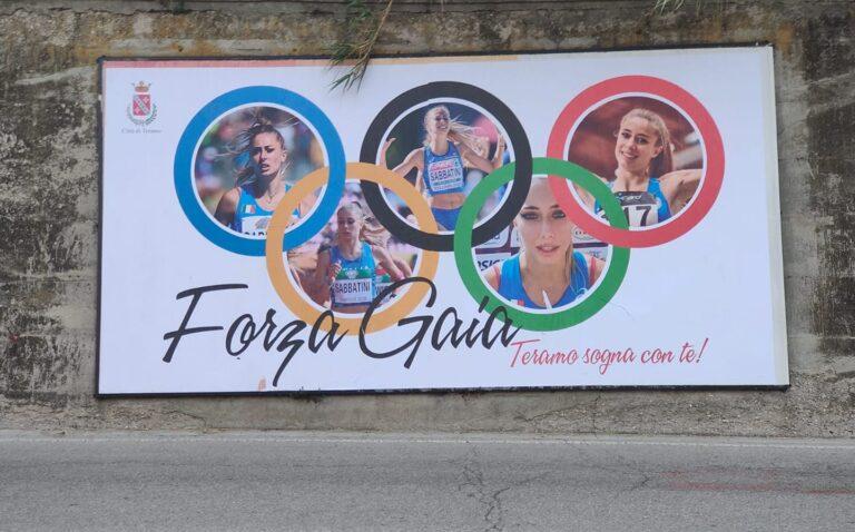 Teramo sostiene Gaia Sabbatini FOTO