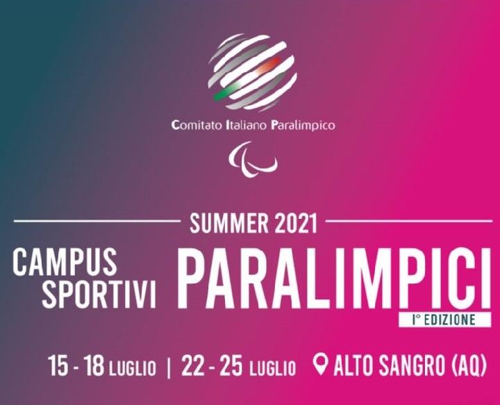 Sport paralimpico, torna il Campus Sportivo Estivo a Roccaraso e a Rivisondoli