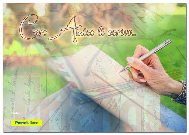 Giornata dell'amicizia: cartolina e annullo filatelico speciale di Poste Italiane