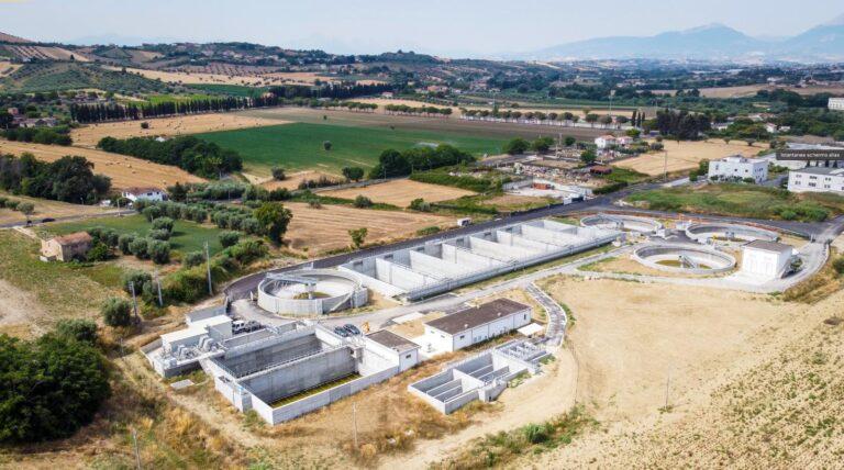 Alba Adriatica, entra in funzione il nuovo depuratore