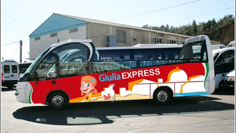 Giulia Express, parte il bus panoramico che attraversa e racconta Giulianova