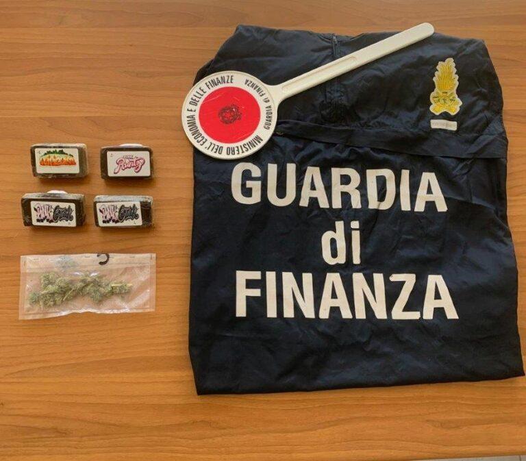 Pescara, arrestato alla stazione con 4 etti di hashish