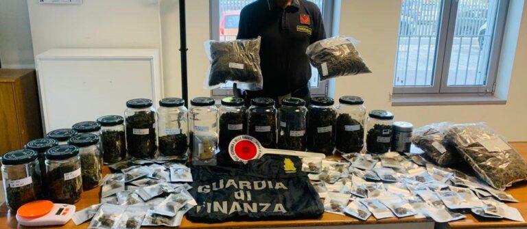Montesilvano, sequestrata droga per 40mila euro