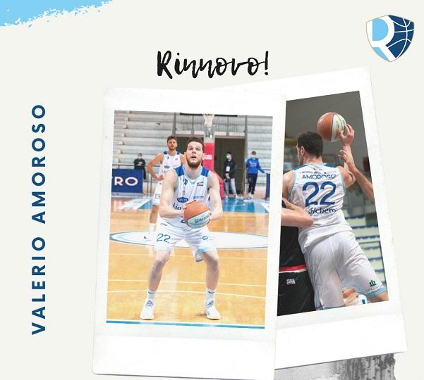 Basket, Liofilchem Roseto: ufficiale il rinnovo del contratto di Amoroso
