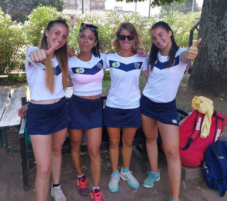 Il Circolo Tennis Mosciano promosso in B2 femminile