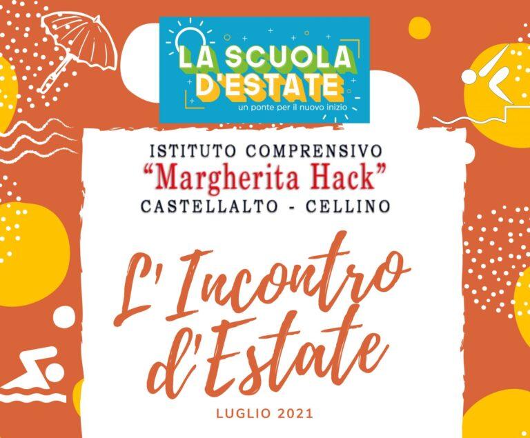 Il 'modello' di scuola estiva dell'IC M. Hack Castellalto – Cellino