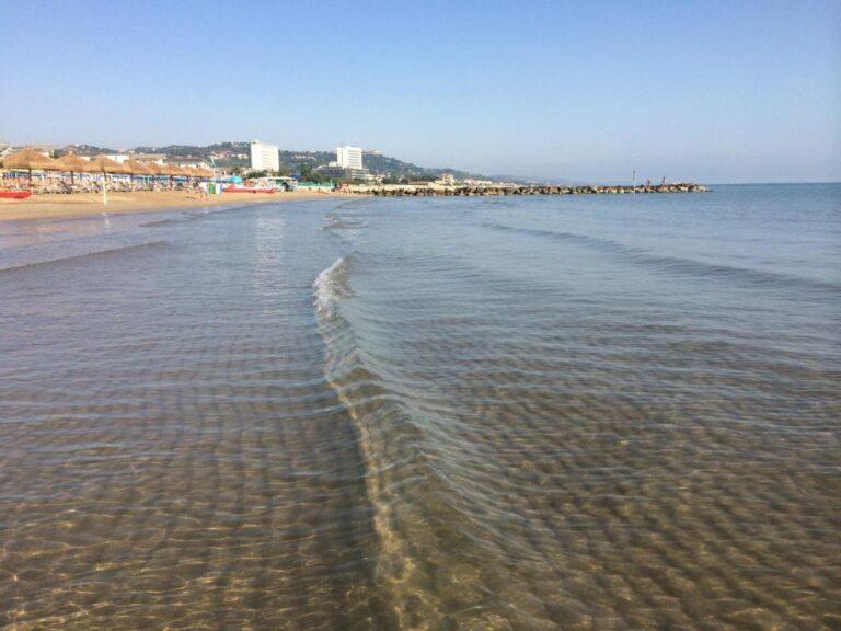 Silvi, balneabilità: qualità delle acque garantita da Arta