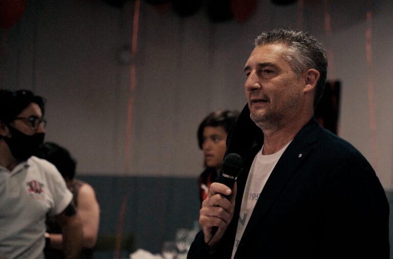 Milan Club Val Vibrata: solidarietà ed entusiasmo nell'incontro con Daniele Massaro FOTO VIDEO