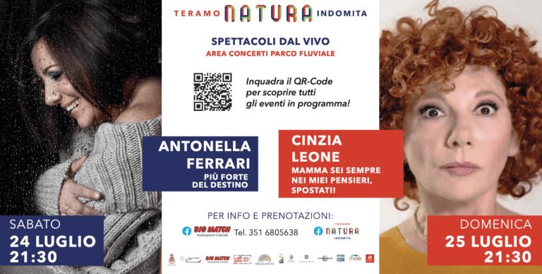 Teramo, Natura Indomita: nel weekend Antonella Ferrari e Cinzia Leone