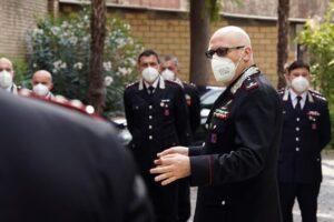 """Il Comandante della Legione Abruzzo Molise a Teramo: """"Complimenti all'impegno dei carabinieri"""""""