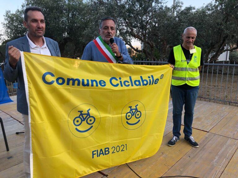 Giulianova conquista la Bandiera Gialla per le piste ciclabili ed i percorsi sostenibili