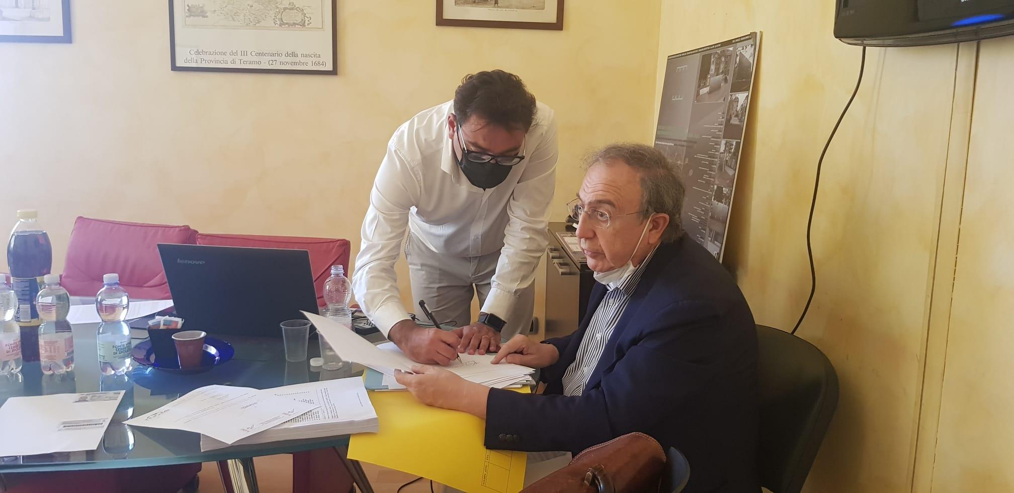 """La Teramo Ambiente ufficialmente in house: """"Giornata storica"""" FOTO"""