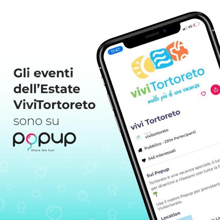 Tortoreto, l'app per prenotare la presenza agli eventi estivi