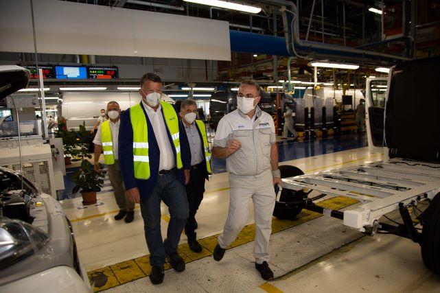 Sevel, Bombardieri: 'Nessun arretramento su occupazione e produzione'