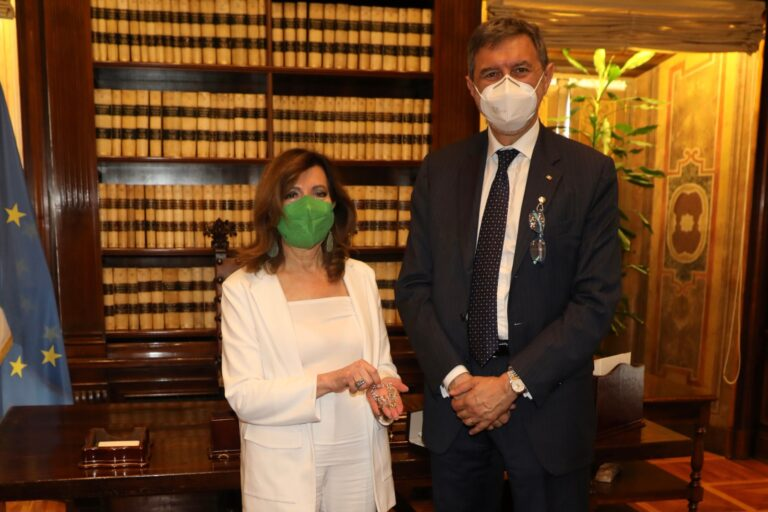 Visita di cortesia di Marsilio al presidente Casellati