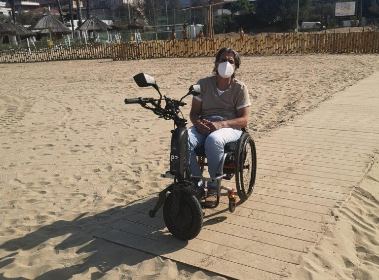 """Pescara, Ferrante: """"L'Ecospiaggia discrimina i disabili"""""""