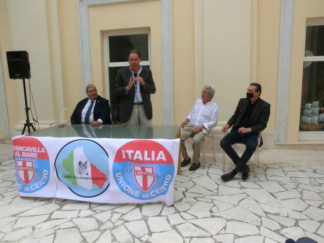 Elezioni Francavilla, Udc e Abruzzo Indipendente ufficializzano l'appoggio a Roberto Angelucci VIDEO