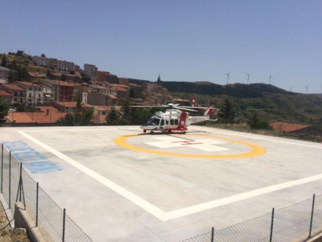 Infrastrutture, inaugurata elisuperficie a Castiglione Messer Marino