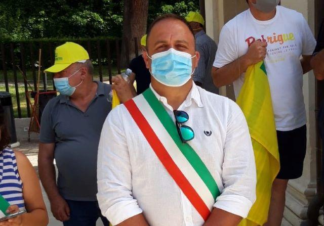 Emergenza cinghiali, Fossacesia presente a L'Aquila al flash mob di Coldiretti
