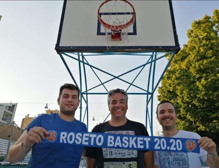 Basket, il Roseto 20.20 riparte dal condottiero Ernesto Francani