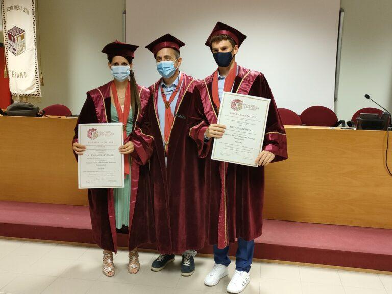 Scienze delle produzioni animali: i primi due laureati all'Università di Teramo