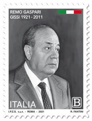 Poste Italiane: emesso il francobollo dedicato a Remo Gaspari