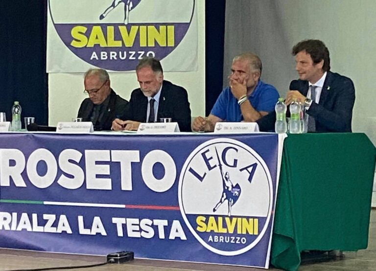 Il Ministro Garavaglia a Roseto: tra turismo e green pass