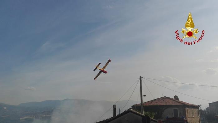 Incendi nella notte a Penne e Pescosansonesco-VIDEO