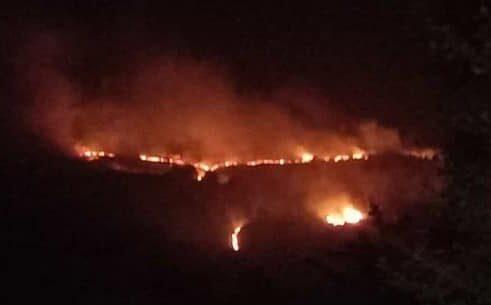 Caramanico: bruciati 240 ettari