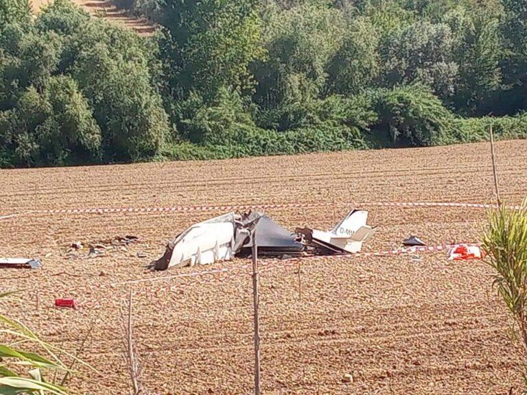 Corropoli, velivolo precipitato: autopsia sul pilota morto