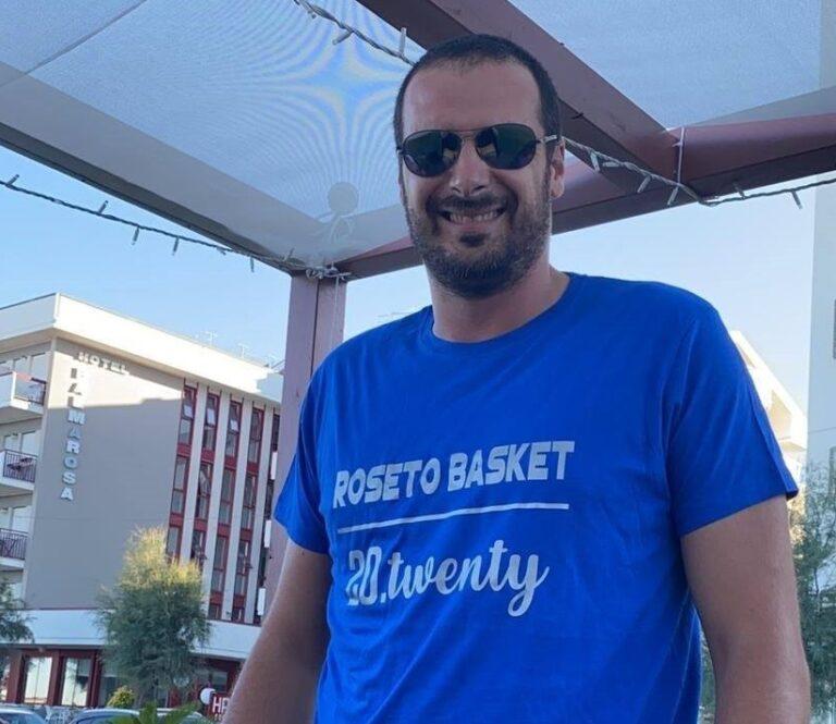 Basket, capitan Innocenzo Ferraro resta al Roseto 20.20