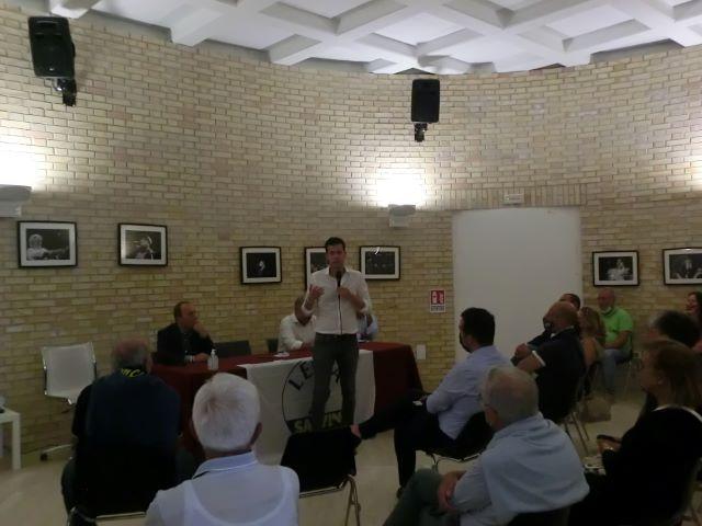Elezioni Francavilla, la Lega con Andrea Crippa sostiene la candidatura di Roberto Angelucci VIDEO