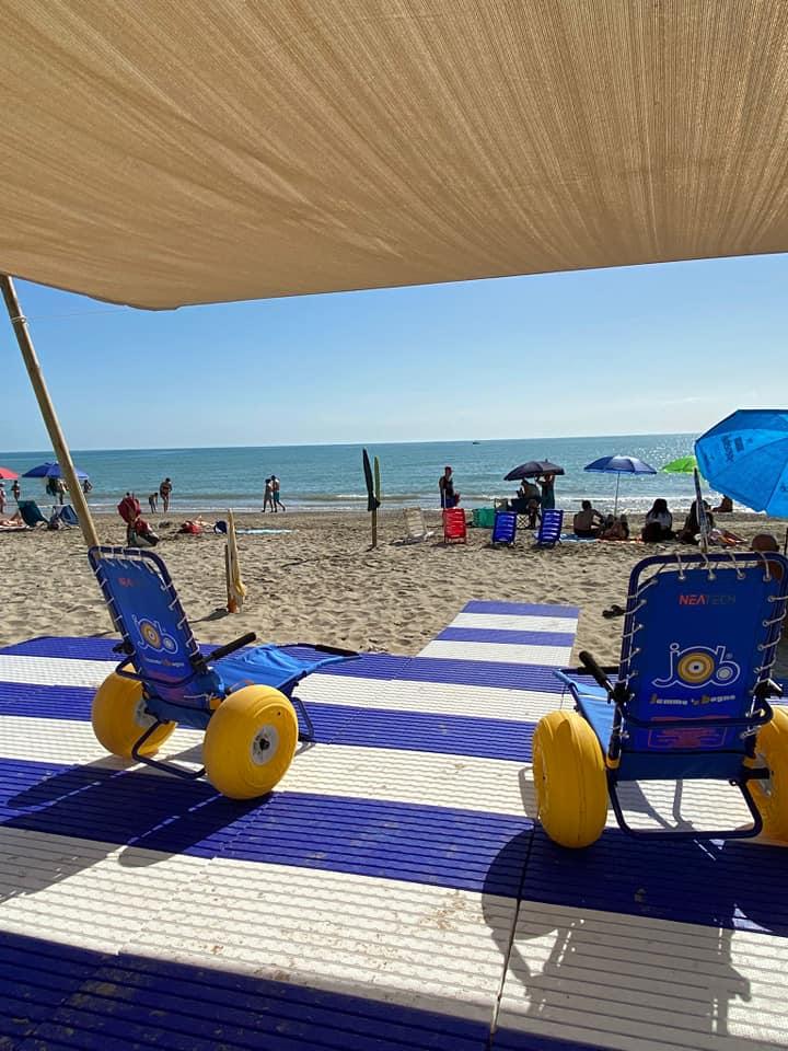 Alba Adriatica, oltre le onde: il mare a portata di tutti. Il progetto FOTO