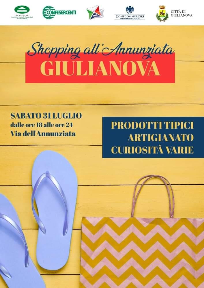 Giulianova, 'Shopping all'Annunziata': mercatino di prodotti tipici e artigianato