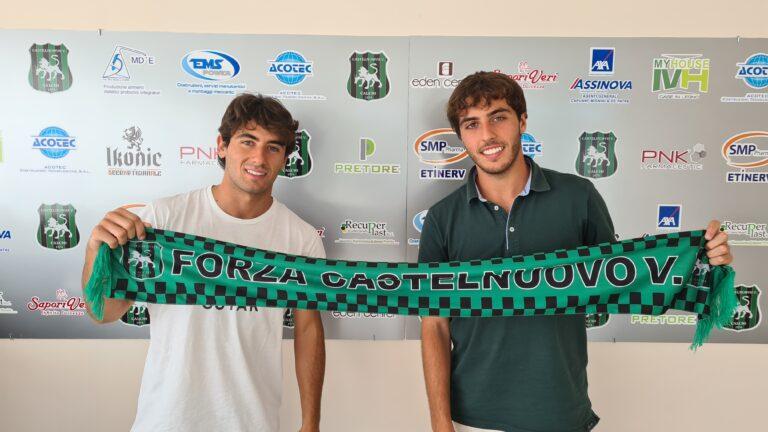 Serie D, il Castelnuovo conferma il fratelli Emili (Leonardo e Lorenzo)