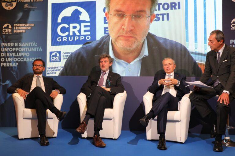 Marsilio: dal piano nazionale poche risorse nel PNRR per coprire le esigenze della sanità VIDEO