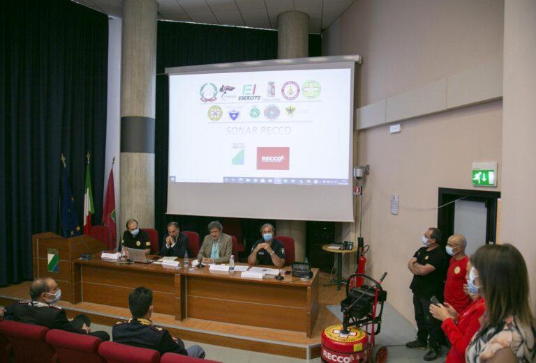 L'Abruzzo si dota di sonar Recco per la ricerca di dispersi