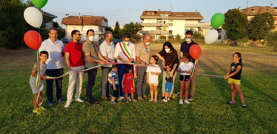 Sant'Omero, è realtà il nuovo parco dello sport di Garrufo FOTO