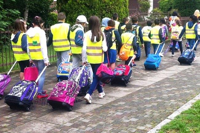 Pescara, altre 2 scuole con il Piedibus