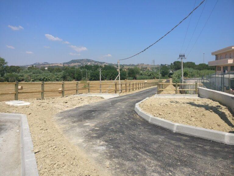 Alba Adriatica, riprendono i lavori per completare la ciclabile sul Vibrata