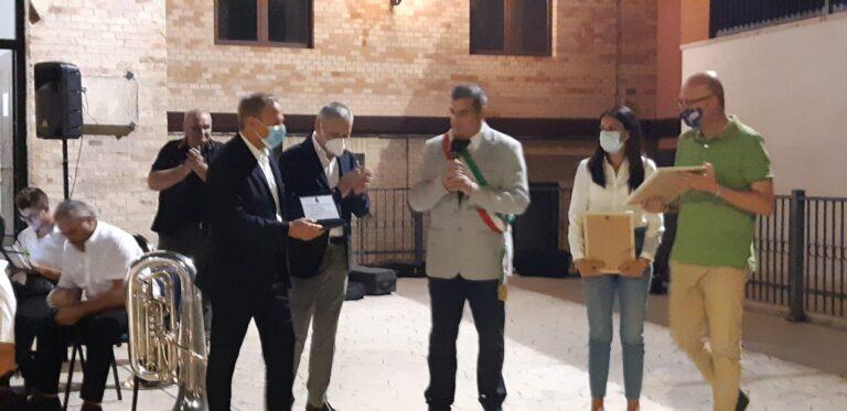 """Ancarano, durante la festa di San Simplicio assegnati  riconoscimenti del premio """"Giuseppe Flajani"""""""