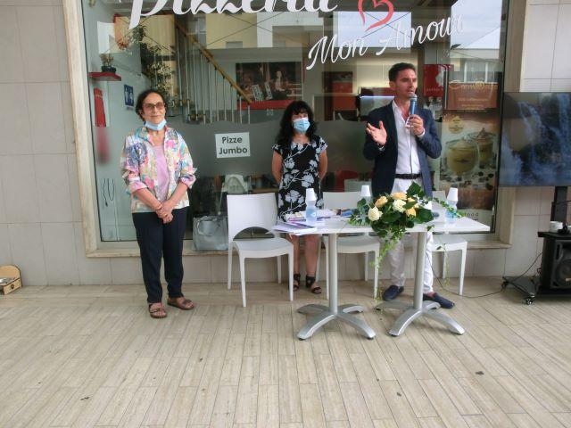 Sambuceto, presentato il libro 'Uno venti e ventuno' di Annita Pierfelice VIDEO