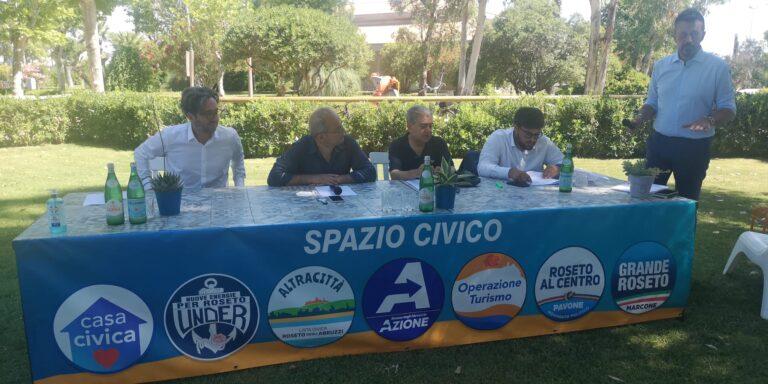 Roseto, Mario Nugnes e Giulio Sottanelli presentano Spazio Civico e le liste. Dentro anche Pavone e Marcone NOSTRI SERVIZI