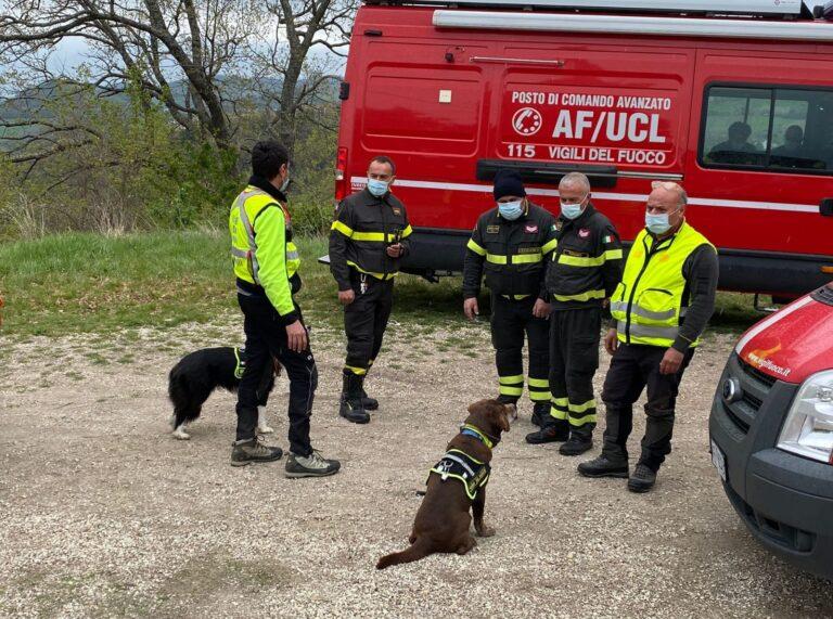 Emergenza terremoto: maxi-esercitazione dei vigili del fuoco a Cortino